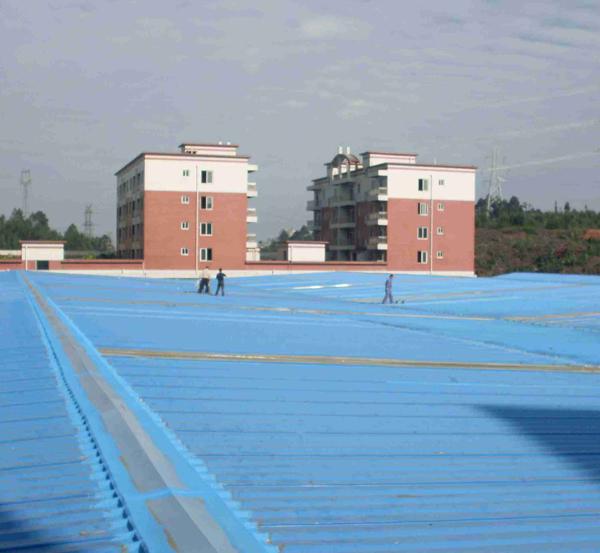 屋面落水口防水处理