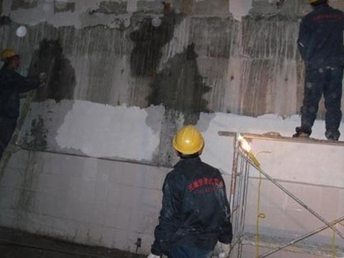 地下室顶板、侧板裂缝渗漏治理及维修方案