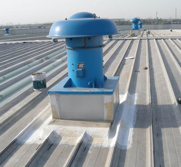 风机底座防水处理