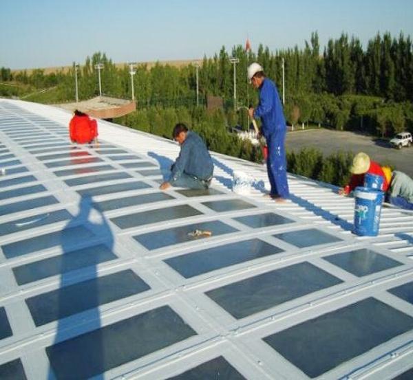 采光板连接处防水处理